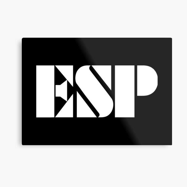 Best Seller - ESP Guitars Logo Merchandise Metal Print