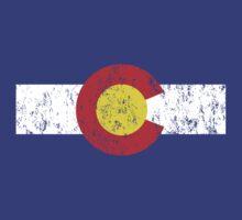 Vintage Colorado Flag