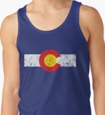 Vintage Colorado Flag Tank Top