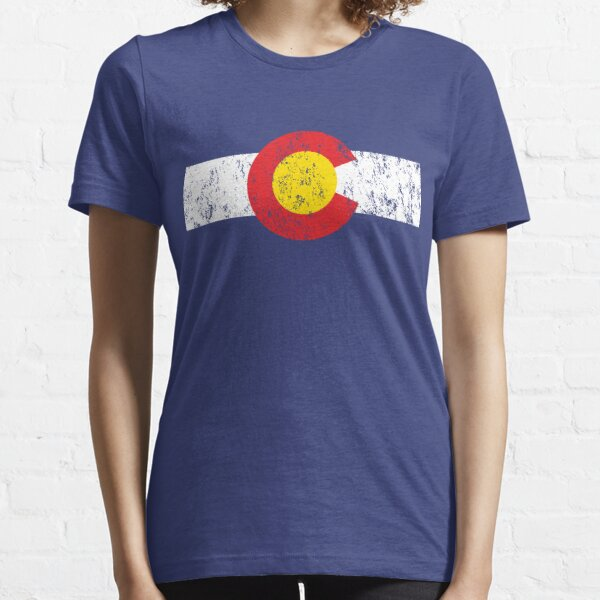 Vintage Colorado Flag Essential T-Shirt