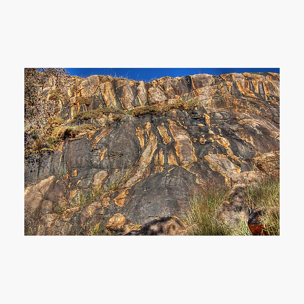 The Darling Scarp at Lesmurdie Falls Photographic Print