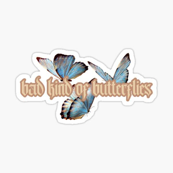 Mala clase de mariposas (con mariposas) Pegatina