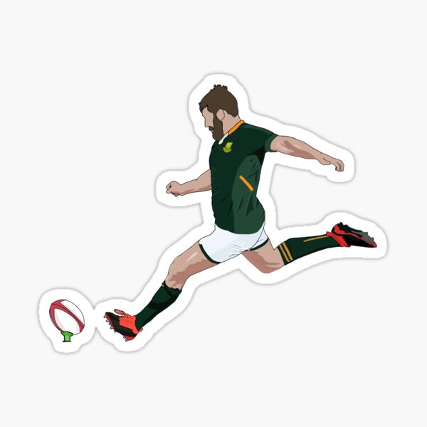 "Francois ""Frans"" Steyn (South Africa) Sticker"
