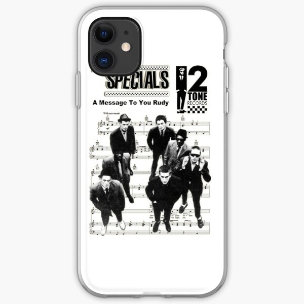 A Message to you Rudy iPhone Soft Case