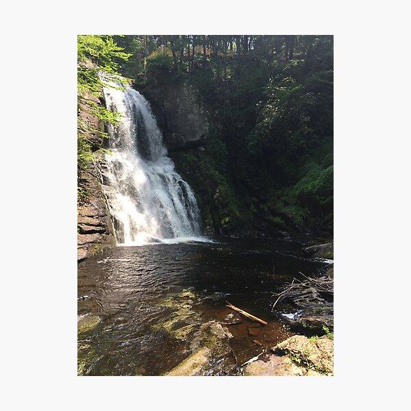 Bushkill Waterfall Photographic Print
