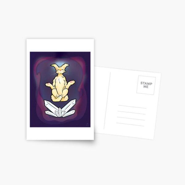 Purrvana Postcard