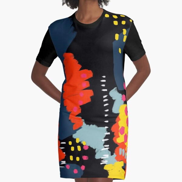 Dark Side Graphic T-Shirt Dress