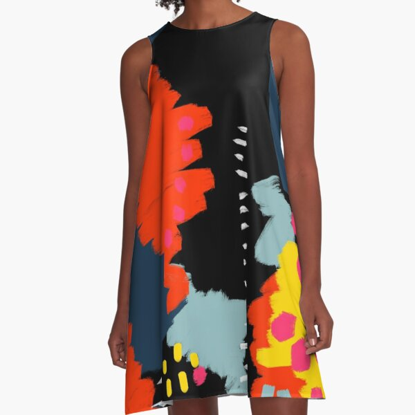Dark Side A-Line Dress