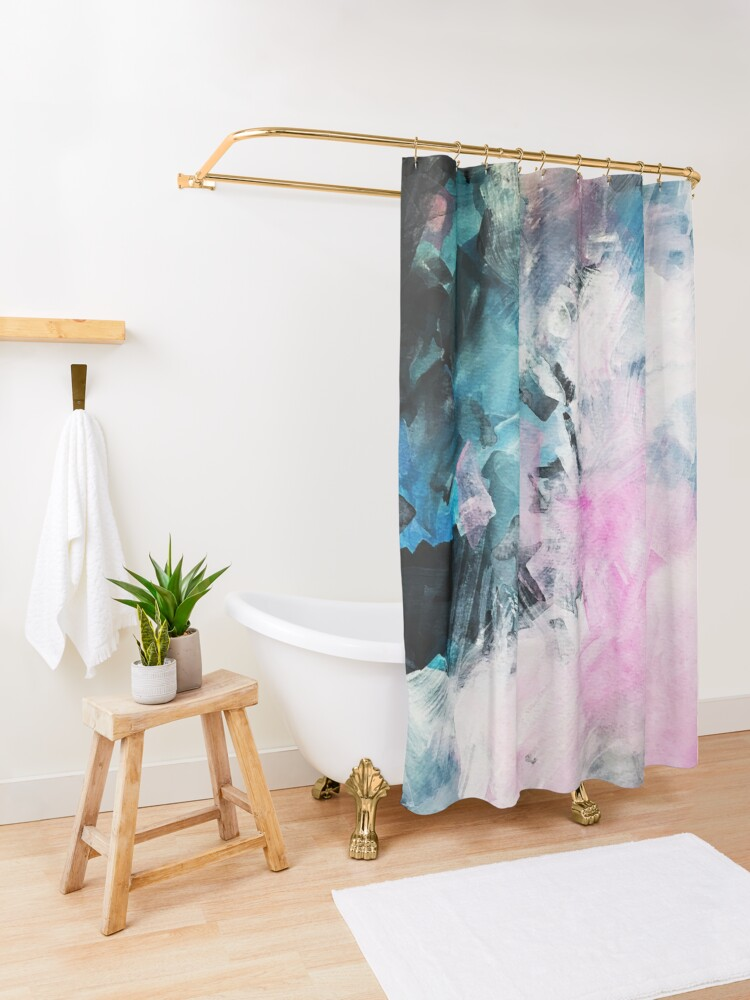 Alternate view of Mood Swing Shower Curtain