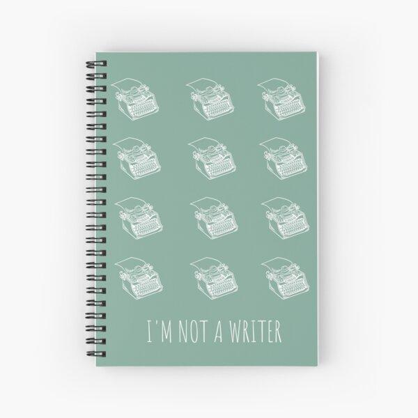 Copie de Copie de Copie de Reading book La petite rédac Spiral Notebook
