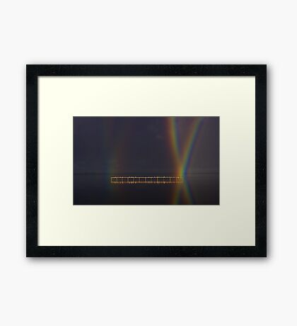 """""""Perched At Rainbows Crossing"""" Framed Print"""
