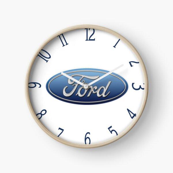 Ford Logo Blue Oval Clock