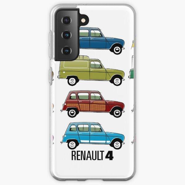 Renault 4 Coque souple Samsung Galaxy
