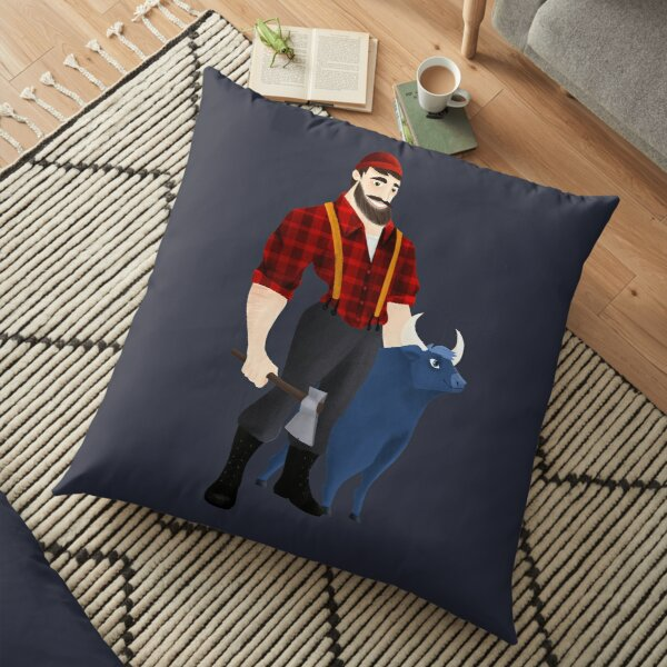 Paul Bunyan Floor Pillow