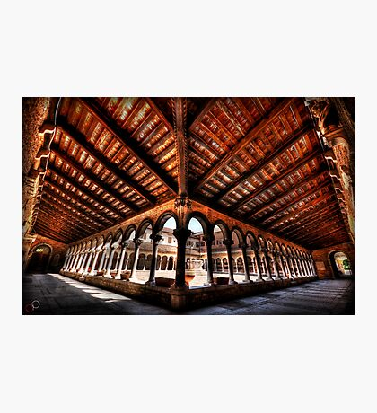 Cemetery Courtyard - Isola di San Michele, Venice Photographic Print