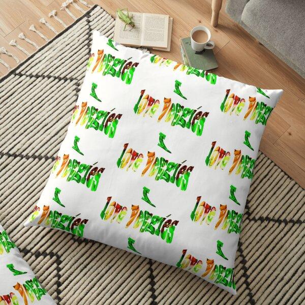 Love Veggies 2  Floor Pillow