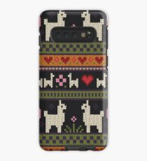 Llama Knit Case/Skin for Samsung Galaxy