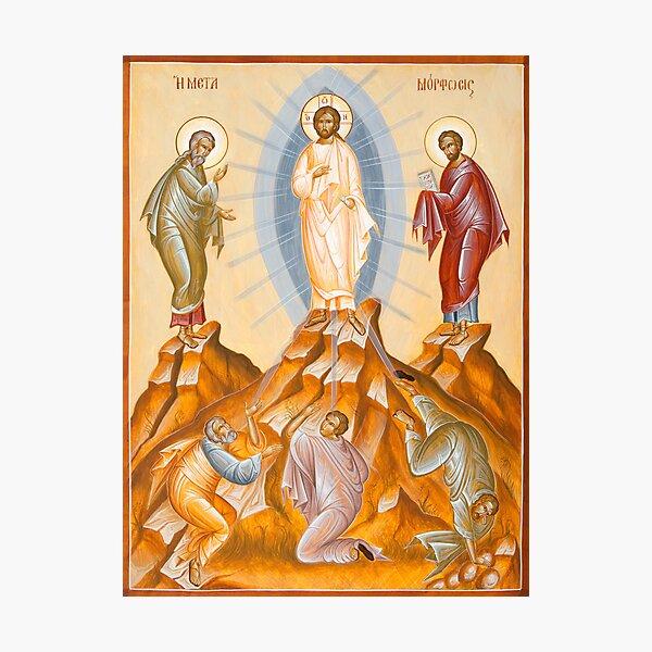 The Transfiguration of Christ Photographic Print