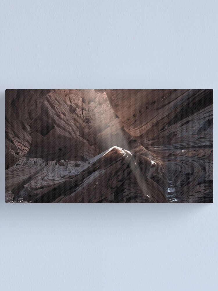 Alternate view of Cave Canvas Print