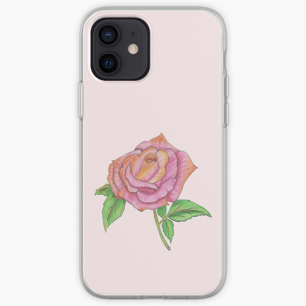 Colorful Rose iPhone Case & Cover