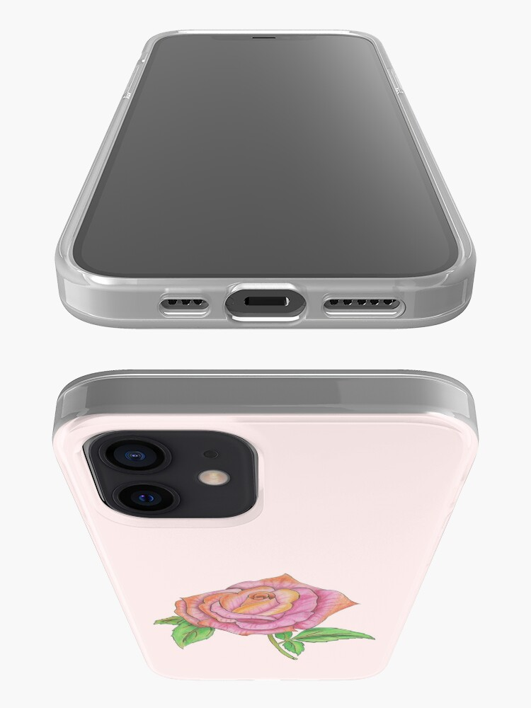 Alternate view of Colorful Rose iPhone Case & Cover