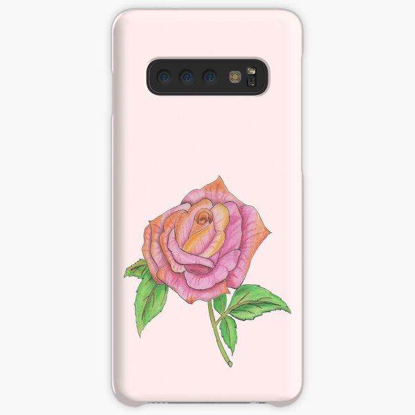 Colorful Rose Samsung Galaxy Snap Case