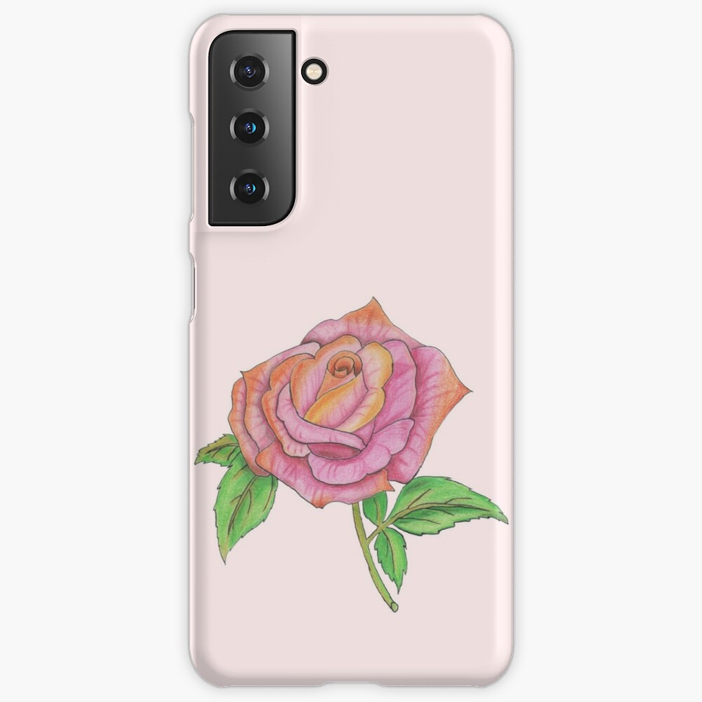 Colorful Rose Case & Skin for Samsung Galaxy