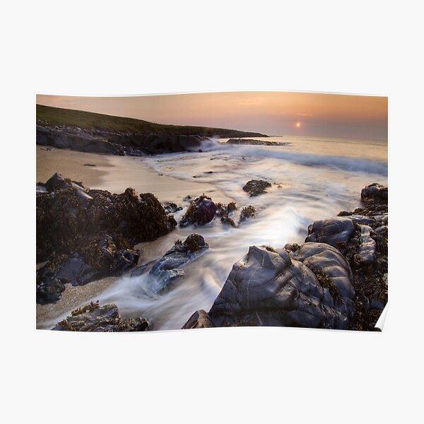 Outer Hebrides Sunset Poster