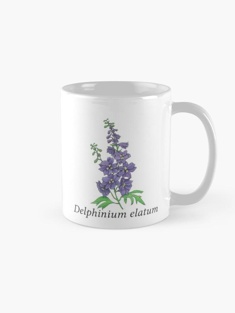 Alternate view of Delphinium elatum Mug