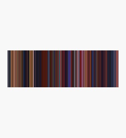 Moviebarcode: Beauty and the Beast (1991) [Simplified Colors] Photographic Print