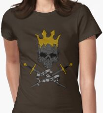 Game of Crossbones Women's Fitted T-Shirt