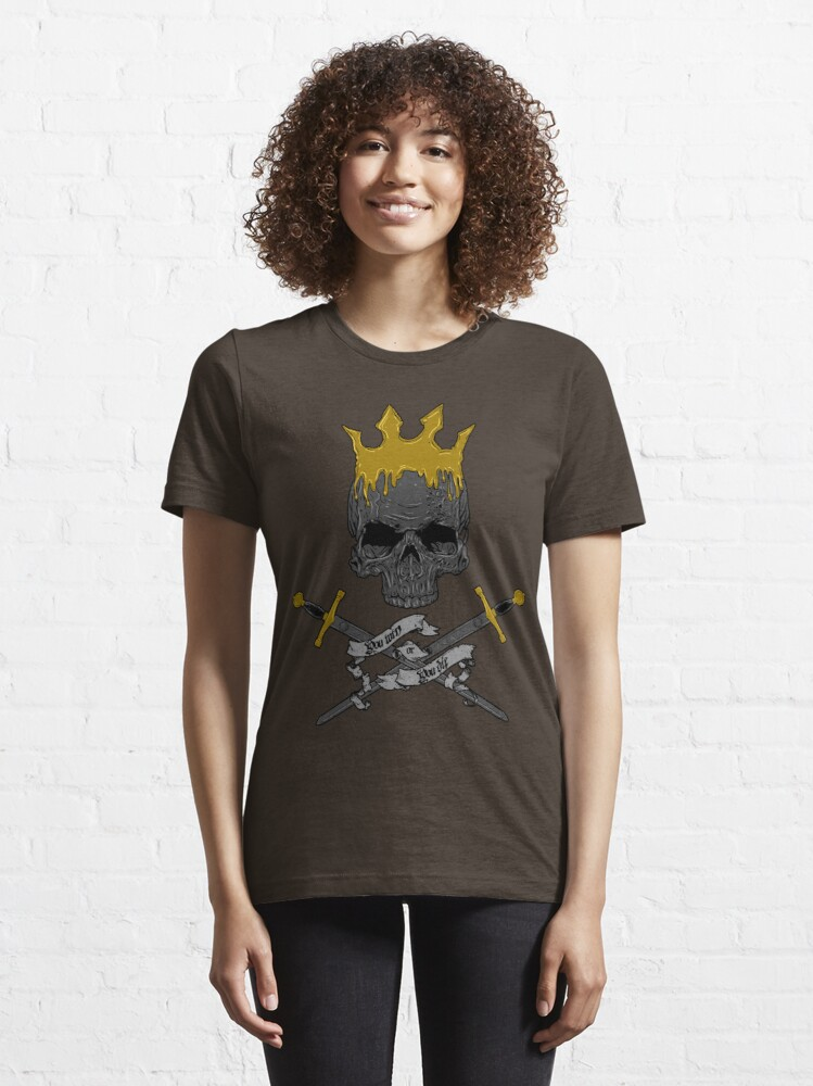 Alternate view of Game of Crossbones Essential T-Shirt