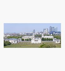 View from Greenwich park. Photographic Print
