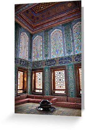 Turkey. Istanbul. Topkapi Palace. Harem. Apartments of crown prince. by vadim19