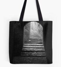 Alleyway in Girona, Spain Tote Bag