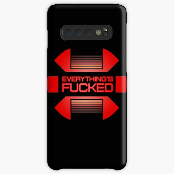 Everything's fucked Samsung Galaxy Snap Case
