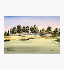 Oakmont Golf Course 14Th Green Photographic Print