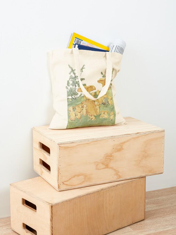 Alternate view of Family sponge egg Tote Bag