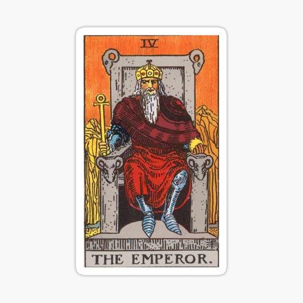 Tarot - The Emperor Sticker