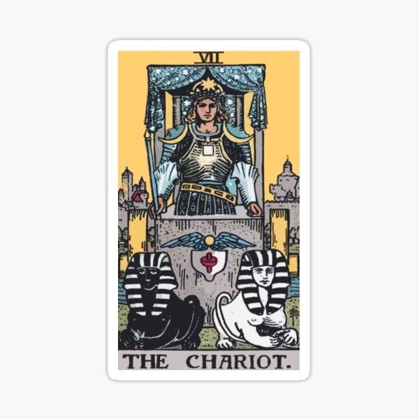 Tarot - The Chariot Sticker