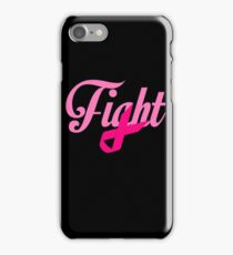 Fight Breast Cancer Awareness iPhone Case/Skin