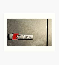 S-Line; Representing Power and Beauty Art Print