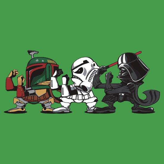 TShirtGifter presents: Star Wars Shirt - Fighting Empire V2