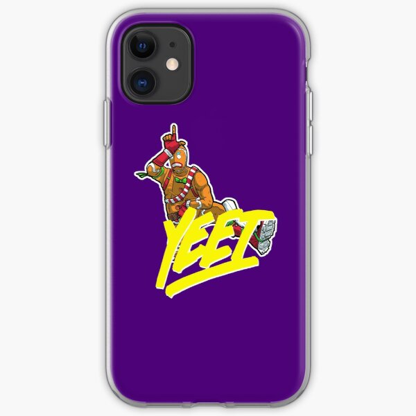 Gingy doing loser dance. Yeet!!! iPhone Soft Case
