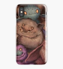 A Snuggle of Gnomes iPhone Case