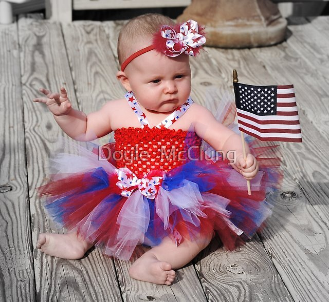 Young Patriot by Doyle  McClung