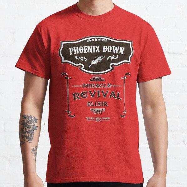 aufrollen! Kommen Sie und holen Sie sich Biggs & Wedges Miracle Elixir, das garantiert jeden Verbündeten wiederbelebt (solange es sich nicht um eine Zwischensequenz handelt). Classic T-Shirt