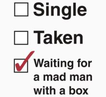 SINGLE TAKEN MAD MAN WITH A BOX