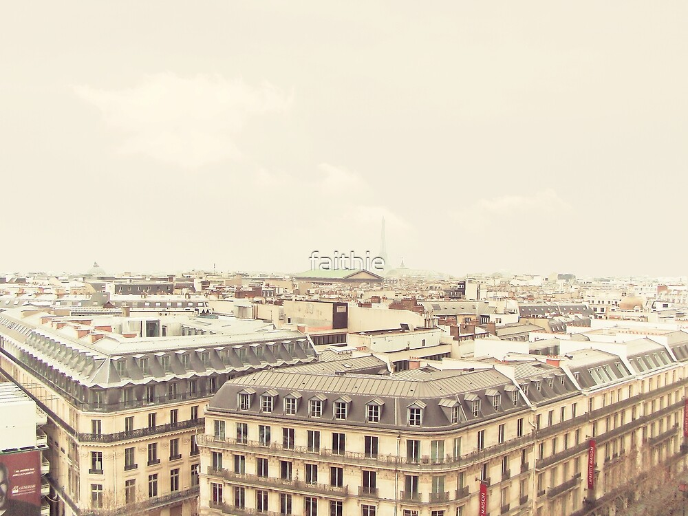 sweet view over Paris by faithie