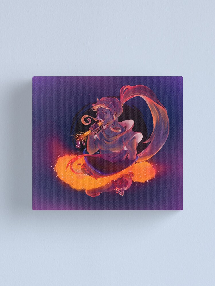 Alternate view of Blackhole Canvas Print
